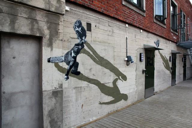 STRØK New Mural In Porsgrunn, Norway