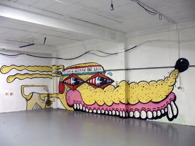 "Sweet Toof ""Sweet Revenge"" New London Exhibition Coverage"