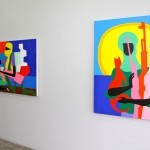 "Todd James ""Free To Be You & Me"" Copenhagen Solo Show Coverage"