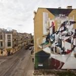 "Robert ""Tone"" Proch New Mural For Fundacja Urban Forms '13 – Lodz, Poland"