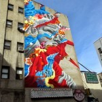 Tristan Eaton New Street Art For The Lisa Project – Little Italy, New York City