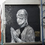 TRK New Mural In Bangkok, Thailand