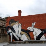 "TWOONE ""Once Upon A Time"" New Mural In Melbourne, Australia"