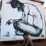 "TWOONE ""Dilemma"" New mural In Roebourne, Australia"