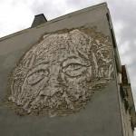 Vhils New Mural For Nuart '13 In Stavanger, Norway
