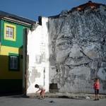 Vhils New Mural In Ribeira Grande, Portugal (Part III)