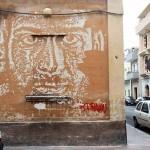 Vhils New Mural In Grottaglie, Italy