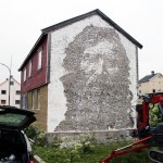 Vhils New Mural In Vardø, Norway (Part II)