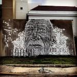 Vhils New Mural In San Juan, Puerto Rico