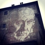 Vhils New Mural – Turin, Italy