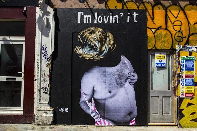 VinZ New Mural In London, UK (Part II)