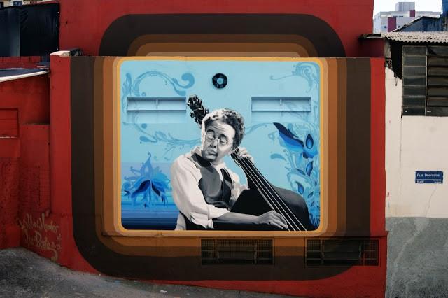 William Mophos x Luiz Prieto New Mural In Sao Paulo, Brazil