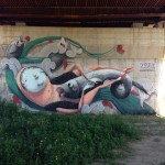 ZED1 New Mural In Viareggio, Italy