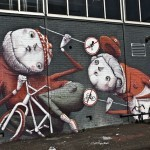 ZED1 New Mural In Amsterdam, Netherlands