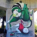 ZED1 New Mural In Certaldo, Italy