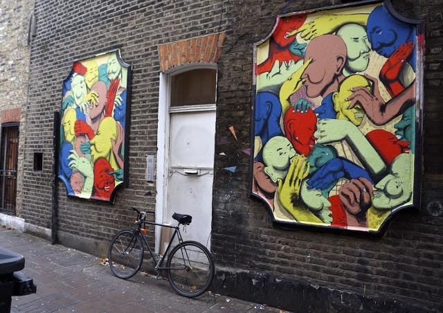 Run New Street Pieces In London, UK