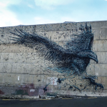 DALeast unveils a new mural in Dunedin, New Zealand