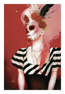 Sylvia Ji 'Señora de las sombras' New Print Available
