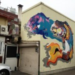 Titi Freak New Mural In Sakai, Japan