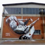 """Zed1 """"The Artist's Boat"""" New Mural – Turin, Italy"""