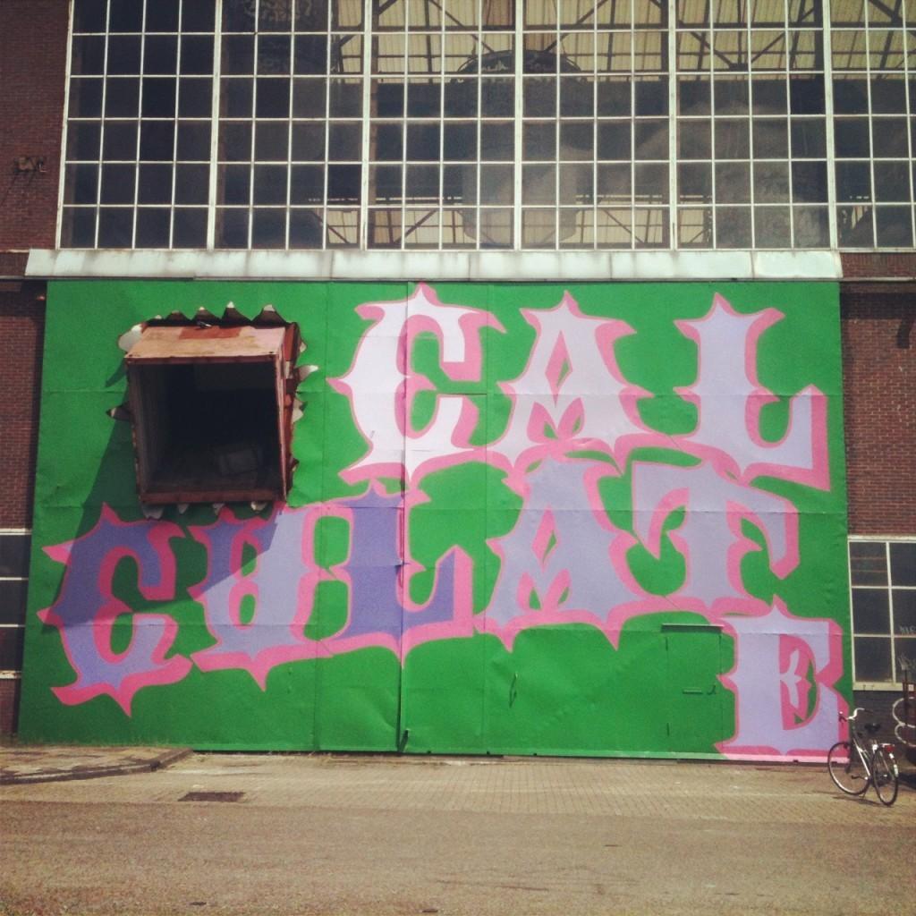Ben Eine New Mural in Amsterdam, Netherlands