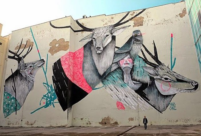 TWOONE New Mural For Urban Nation – Berlin, Germany