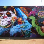 Pow! Wow! '15: Nosego and Woes collaborate on a new mural in Honolulu