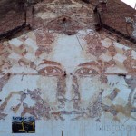 Vhils New Mural In Baltimore