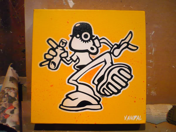 Urban Pop Shop – Sprayed Works for £30