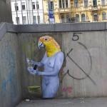 VinZ New Street Pieces In Vienna, Austria