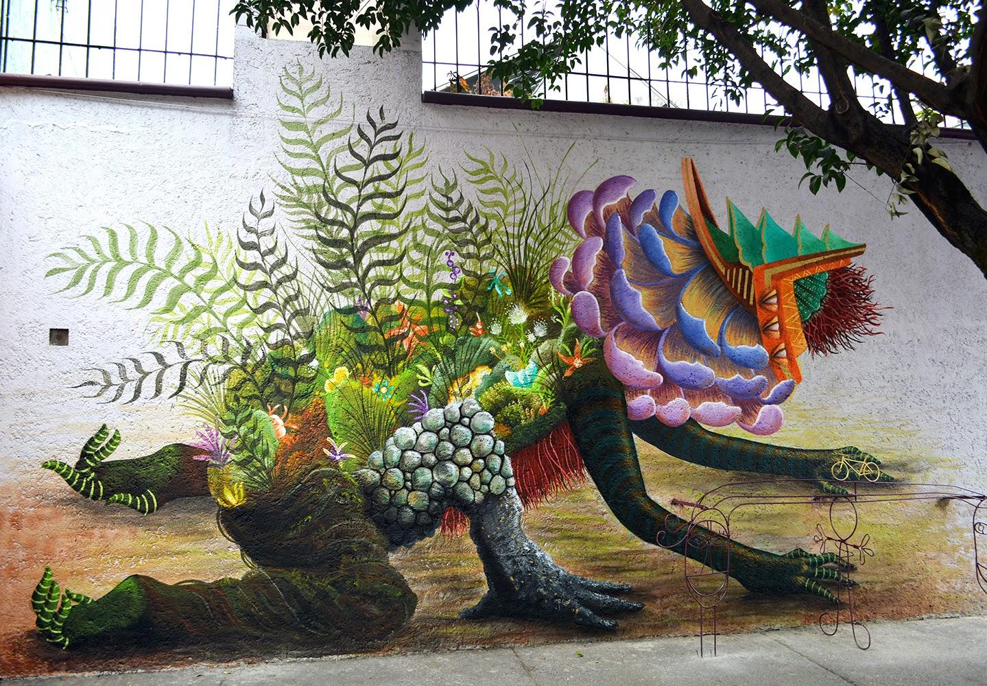 Curiot New Street Art Piece - Mexico City