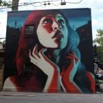 El Mac New Mural In Montreal, Canada