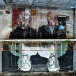 Borondo New Mural For Visione Periferica – Mosciano Sant'Angelo, Italy