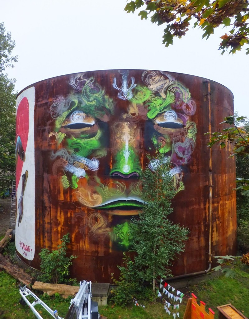 WESR creates a new piece in for the Fokus Festival in Görlitz, Germany