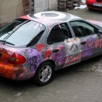 "David Le Fleming Custom Painted Car ""Ford Mondeo"" Auction"