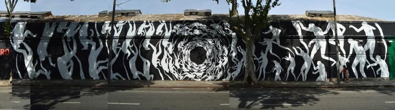 """""""Deambulantes"""" by David De La Mano in Montevideo, Uruguay"""
