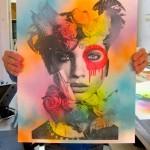 "Dain is back with ""Flower Neck"", a limited edition screen-print release"