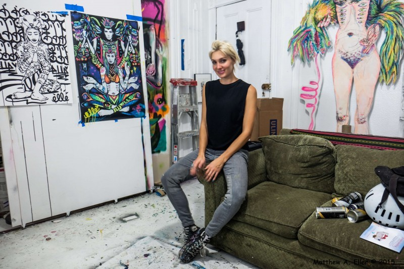 Artist Interview & Studio Visit: Elle
