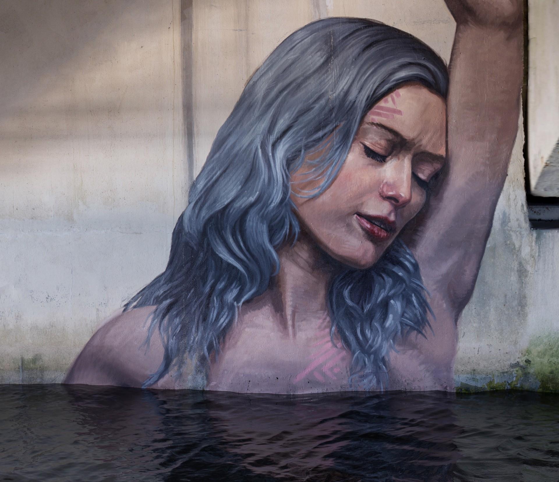 The Hula blends water and street art in Florida | StreetArtNews
