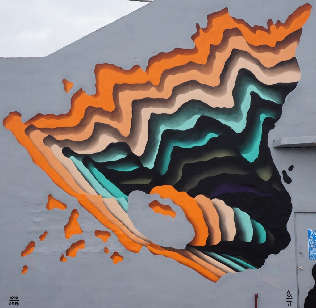 1010's vortex in Wynwood, Miami