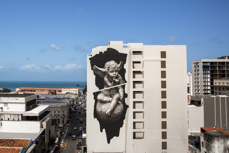 """Heaven & Hell on Earth"" by iNO in Fortaleza, Brazil"