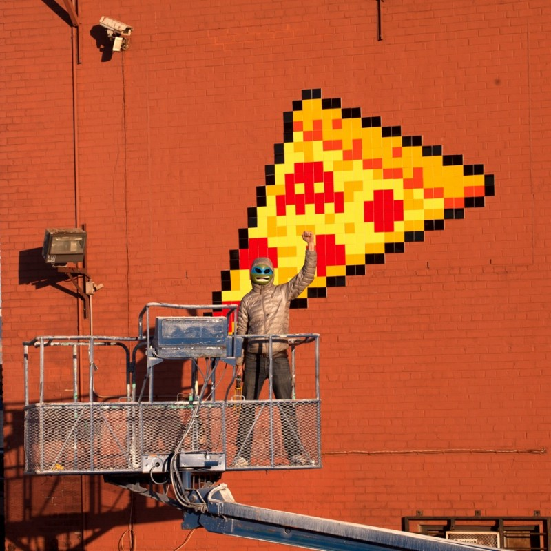 Invader's 6th wave of Invasion in New York City