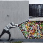 """Behind The Curtain"" by Martin Whatson in Miami"