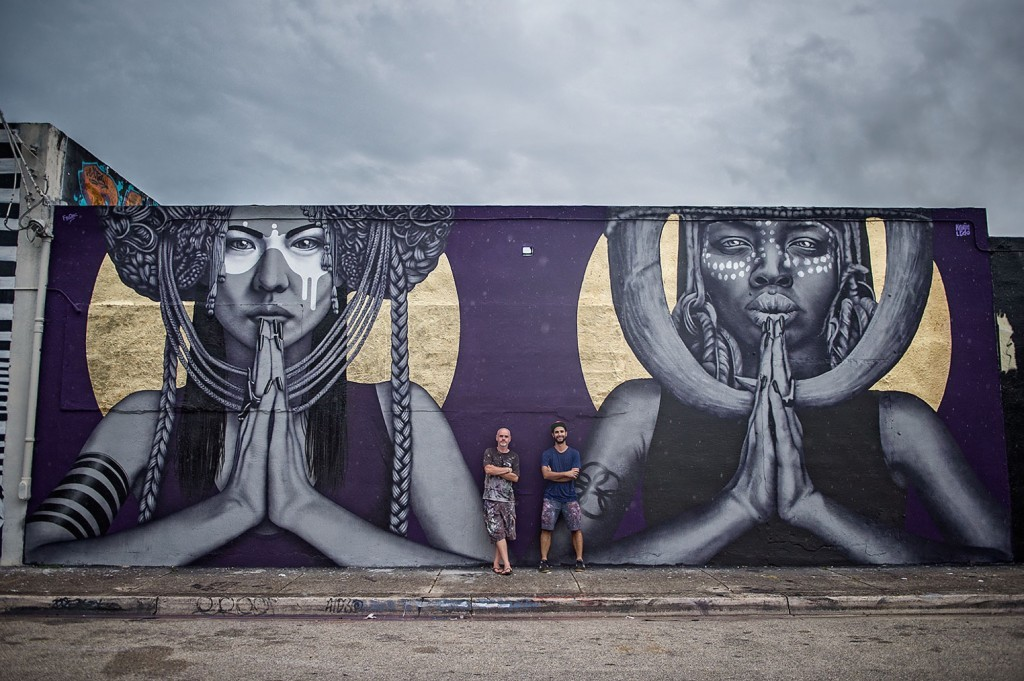 Fin DAC & Kevin Ledo collaborate in Wynwood, Miami