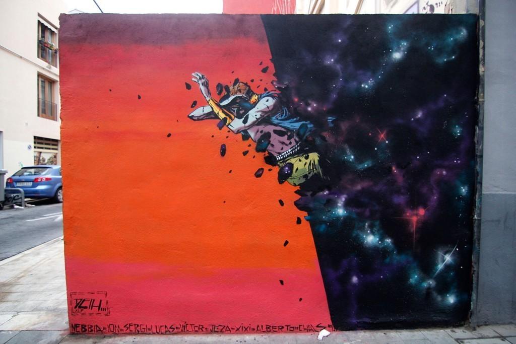 """""""Gravity"""" by Deih in Valencia, Spain"""