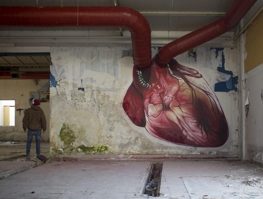 Animated Heart Piece by Lonac in Croatia