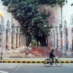 St+Art India: Borondo in Lodhi Colony, New Delhi