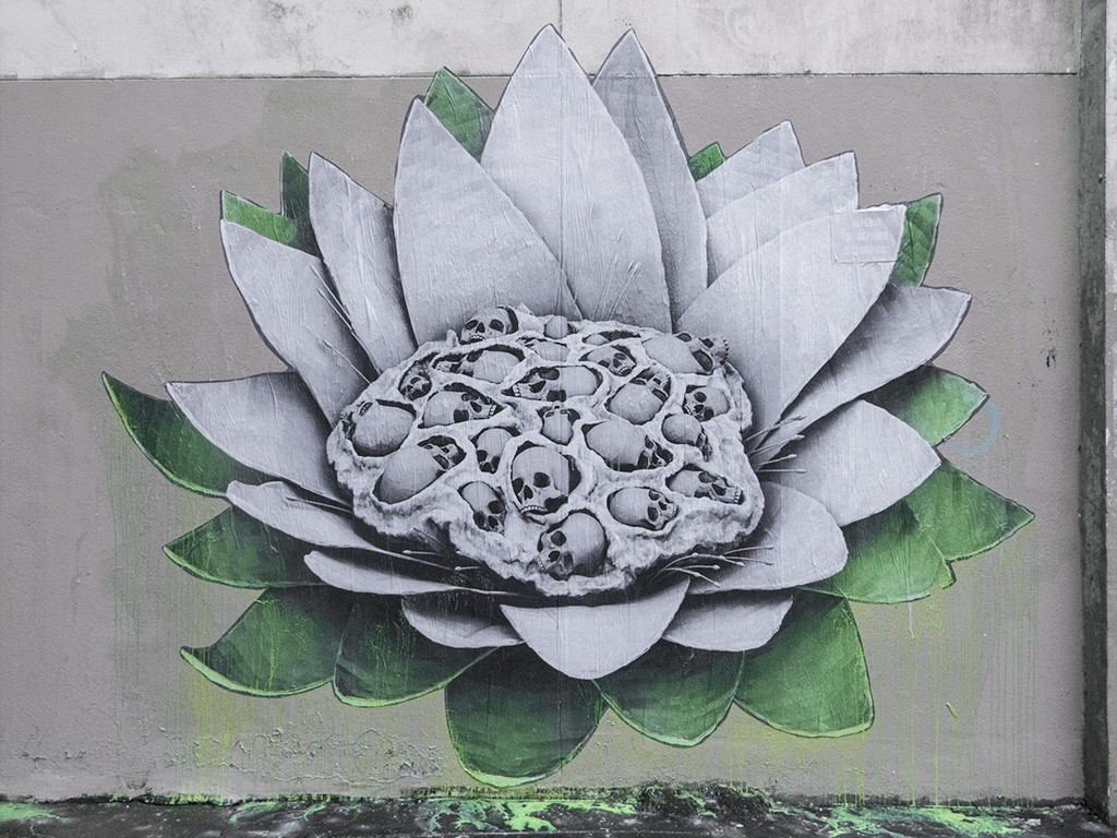 """Lotus"" by Ludo in Paris, France"