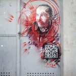 C215 paints a new piece in Paris for Proj256