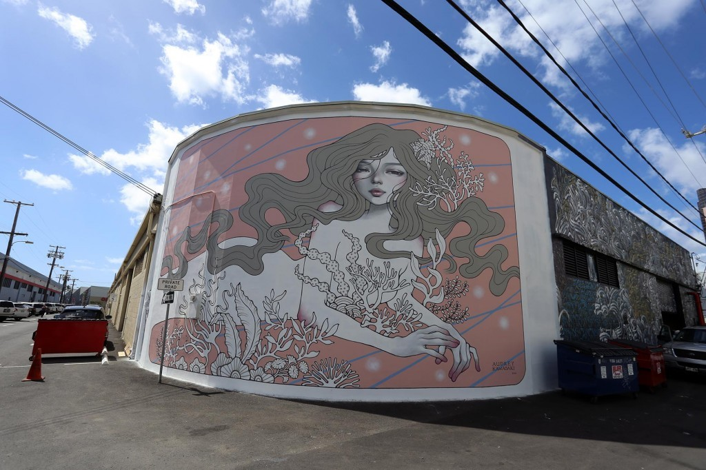 POW! WOW! Hawaii: Audrey Kawasaki in Honolulu